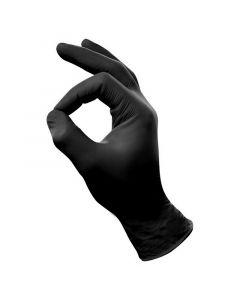 Nitril handschoen zwart